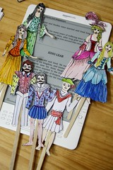 king lear puppets on Kindle DX