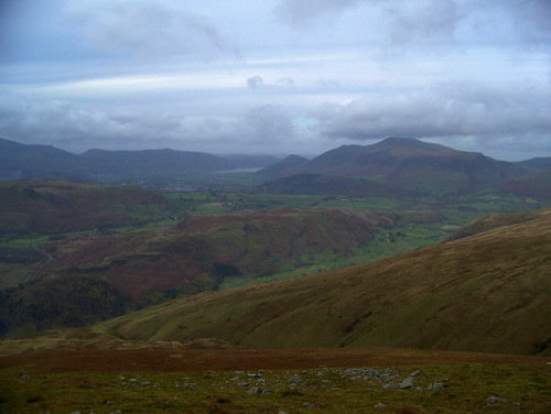 Skiddaw and St John in the Vale
