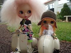 Greta y Felicia de paseo