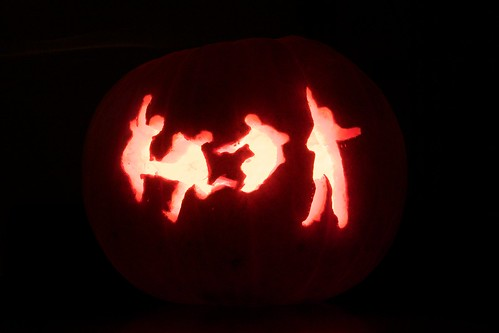 The Beatles Jumping Pumpkin