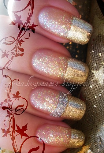 Glam French Mani
