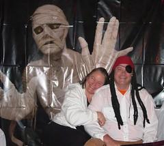 Chris and I Halloween 2010
