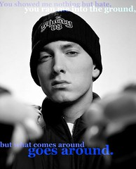 Eminem. (- don't you remember i'm your baby girl?) Tags: love me slim you martial no wayne ground lil what goes around comes ran shady eminem matters