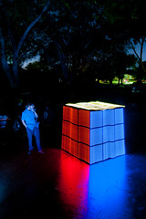 Rubik's Mega Cube! (TxPilot) Tags: longexposure light lightpainting art night painting photography lights graffiti nikon long exposure paint bright led lap strip lighttrails movinglights rgb lightgraffiti arduino lightpaint lightemittingdiode programmable lightstrip d700 lightgraf lightartphotography arduinomega hl1606 programmablergbledstrip programmablelightstrip rgbledaddressable digitallightwand