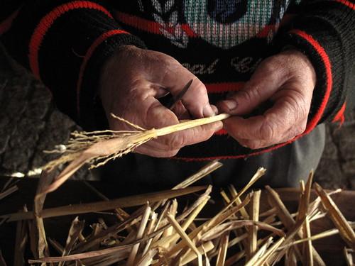 A vassoura de milho