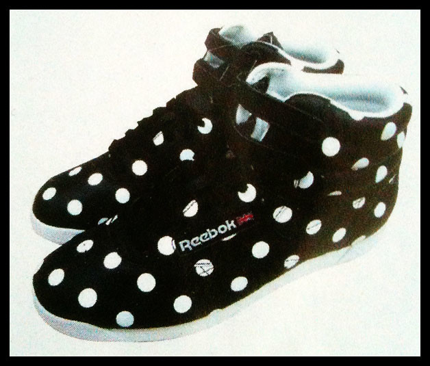 Shoe Lust - Reebok Freestyle Polka Dot