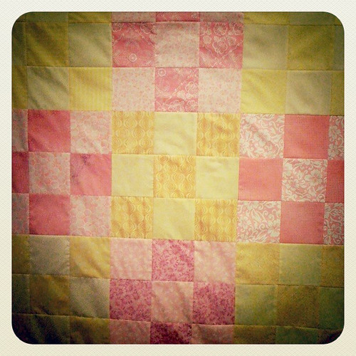 Emily's quilt [in progress]