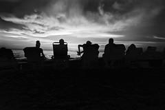 malevolent face in the sky (J.Armando Serrano Photography) Tags: sony nex5 digitalcamera florida bw google gulfofmexico sunsetbeach flickr beach clouds face view