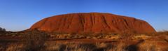 Uluru Panorama 2 Edit 2 RS (Swebbatron) Tags: australia panorama dawn sunrise uluru ayersrock groovygrape redcentre northernterritory red fuji radlab travel lp 2008 lifeofswebb