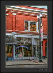 Closed Monday (the Gallopping Geezer '4.8' million + views....) Tags: building structure business store storefront mainstreet smalltown lowell mi michigan backroad backroads old canon 5d3 24105 geezer 2016 sign signs signage hdr processing photomatrix