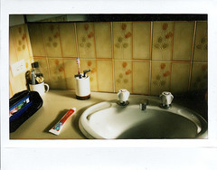 Ablutions (sengsta) Tags: bathroom sink vanity snap instax fujiinstax instandfilm