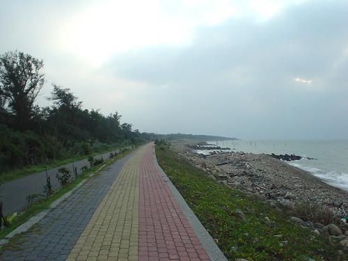 43.騎在顛簸的腳踏車道上賞海