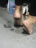 IMG_3645 (Shoeless :P) Tags: street city white sexy london gorgeous tube dirty barefoot barefeet shoeshop shoeless dirtyfeet noshoes blackfeet dirtysoles cambden filthyfeet baresoles filthydirty filthysoles publicfeet blacksoles