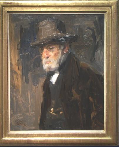 Isaac Israëls portrait father Jozef Israels