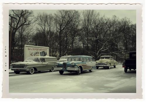January snowfall 1959