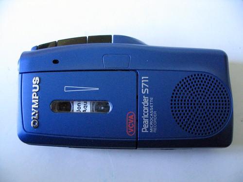 Olympus S-711 voice recorder