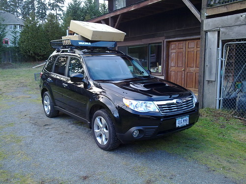 Forester 2.5 Xt >> 2010 Forester with Yakima MegaWarrior and Specter MFC ...