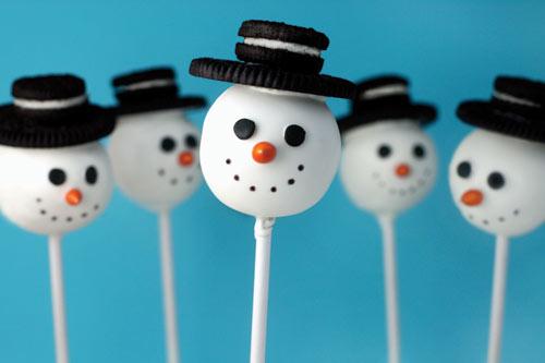 Snowman Cake Pops Bakerella Com