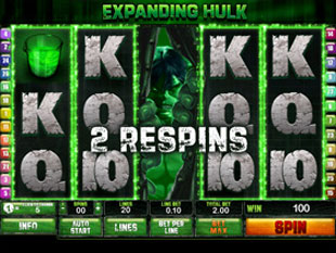 free Incredible Hulk 50 Lines free spins