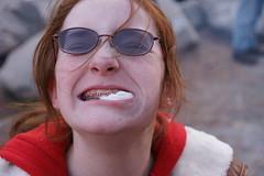 DSC09533 (Capt Kodak) Tags: birthday party cold cake georgia icecream hotdogs letitsnow stonemountain verycold thevarsity snowmountain thegreasyv yesitssnowingeorgia