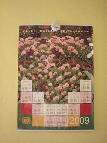 kalendarz działkowy