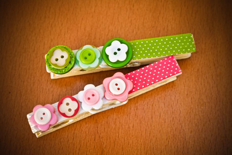 Buttons & Pegs