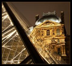 Palais du Louvre [1670] (josefrancisco.salgado) Tags: paris france night evening noche nikon europa europe ledefrance nocturnal palace nocturna nikkor fr iledefrance palaisdulouvre d3 palacio bracketing 2470mmf28g