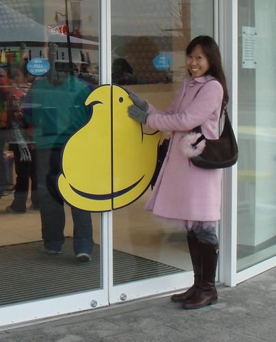 Peeps Store Entrance