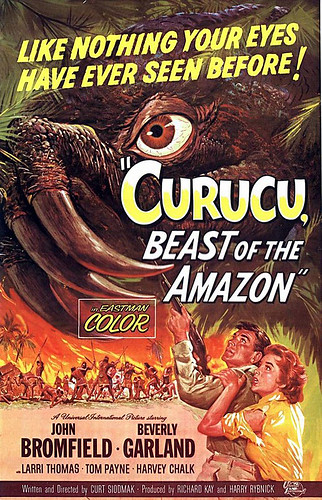 "1956 ... ""actually filmed in the Amazon!"" by x-ray delta one"