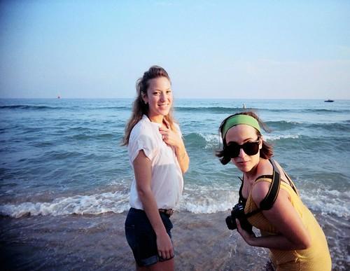 Korea, Haundae beach
