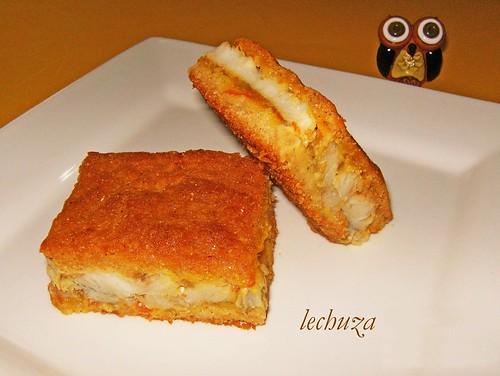 Empanada cariocas-porción cerca