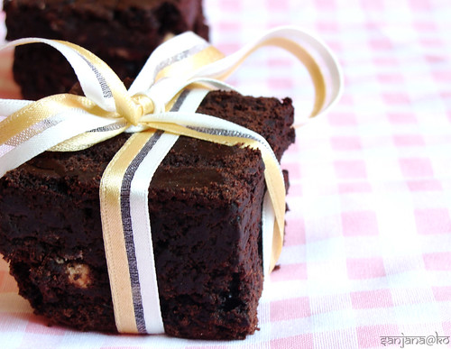eggless/vegan brownies 2