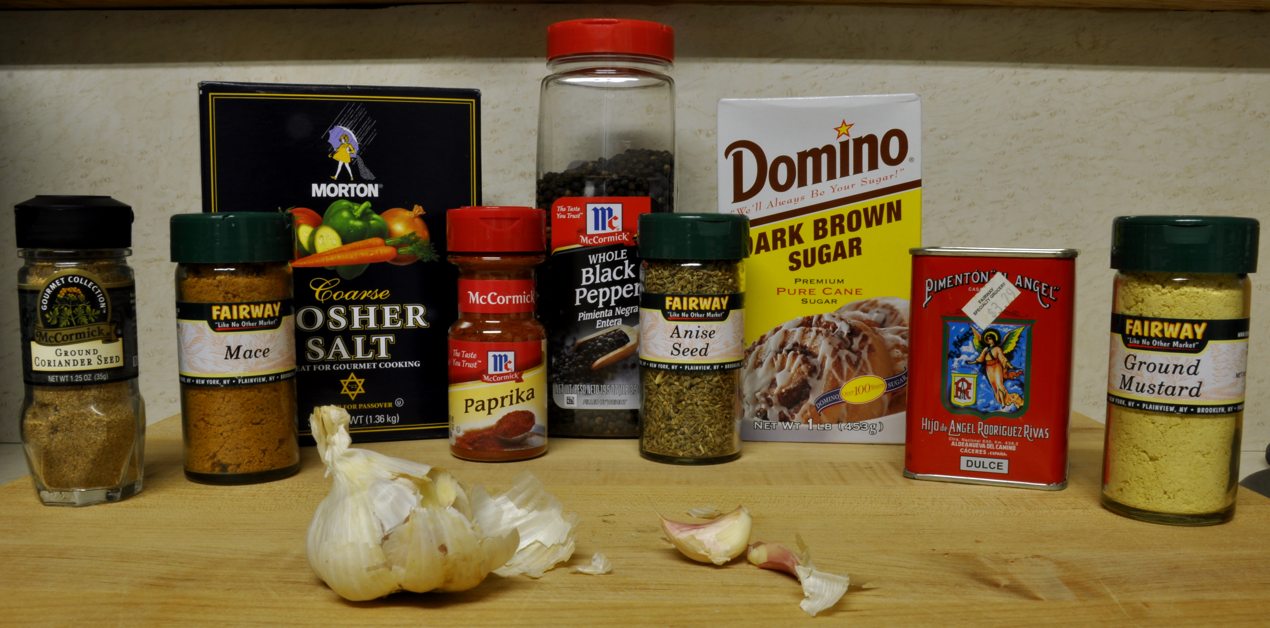 Pastrami Cure Ingredients