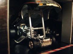 Drag tune up (Designer & Custom Modelist) Tags: auto hot scale car real toy model treasure garage wheels larrys diorama hunt collector riders maqueta modelismo
