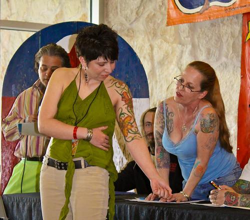 Tattoos Flower Design on Girl Hand