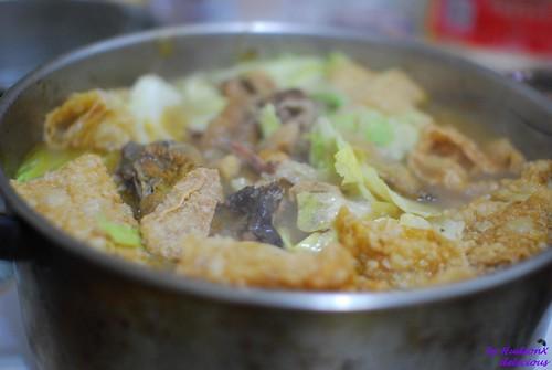熱騰騰的薑母鴨