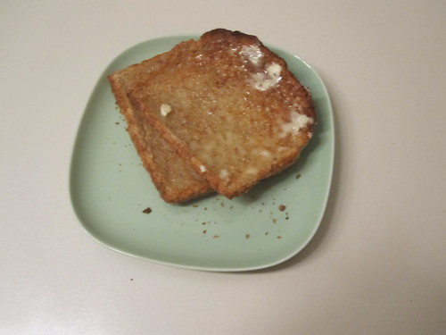 Buttered toasts