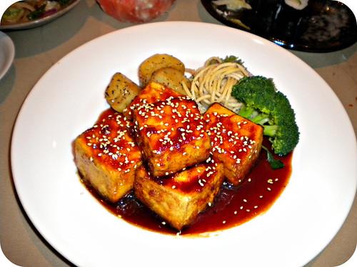 tofu and sushi <3