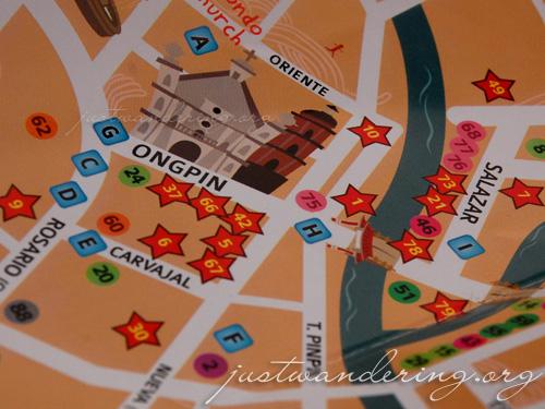 Binondo Food Wok Map