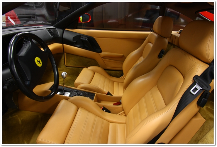 Ferrari 355 GTS interior after detail