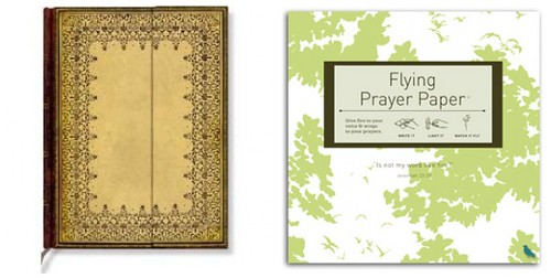 Flying Wish Paper & PaperBlanks Journal Giveaway Images