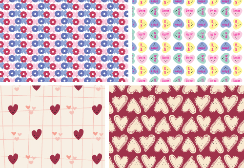 graphic regarding Printable Origami Paper titled Wild Olive: hearts working day origami paper