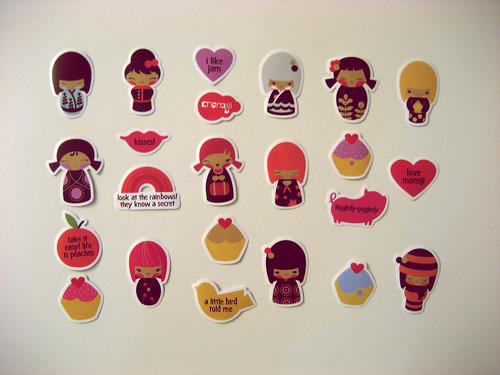 momiji stickers