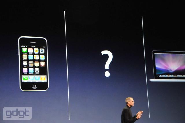 Présentation de l'iPad par Steve Jobs