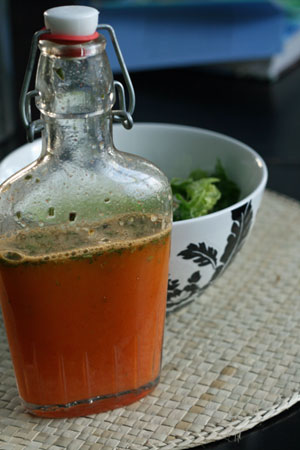 Honeybell Orange Rosemary Dressing