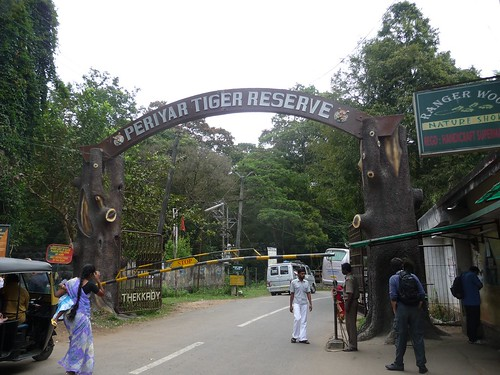 The Periyar Tiger Reserve