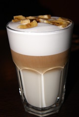 Bannana latte (beswickl) Tags: coffee latte bannana