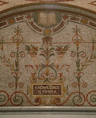 """""""Knowledge is Power"""" Mosaic at the L..."""