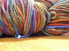 """Where the Wild Things Are"" on Cestari Columbia Wool - 4 oz"