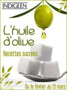 Huile d'olive - Recettes sucrées